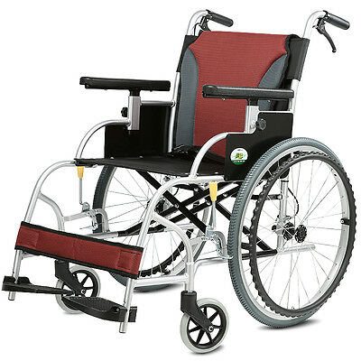 Self Propelled Folding Portable Wheelchair especially light excellent quality