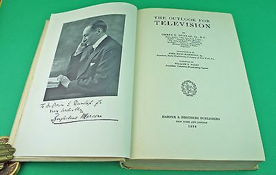 1932 The Outlook for Television by Dunlap. Baird, Ives, Zworykin, Jenkins, Farns