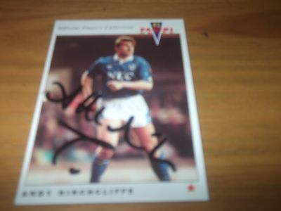 Panini 92 Andy Hinchcliffe   Everton    Signed Card