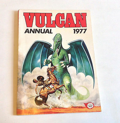 Fleetway British Vintage Vulcan Paperback Comic Book Annual UK 1977 - SCARCE