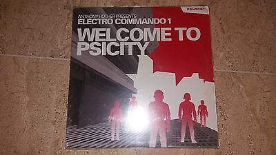 """Anthony Rother Presents Electro Comando 1""""welcome To Psicity"""" 3X12"""""""