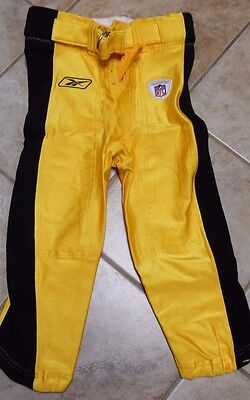 PITTSBURGH STEELERS GAME PANTS STEELERS 2001 GAME ISSUE BERLIN WISC. MADE sz 32L