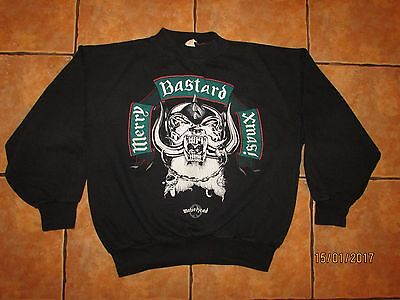 Rare MOTORHEAD Genuine Tour Sweatshirt 1989