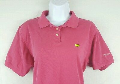 Masters Collection Ladies Pink Polo Golf Shirt Women Size XL