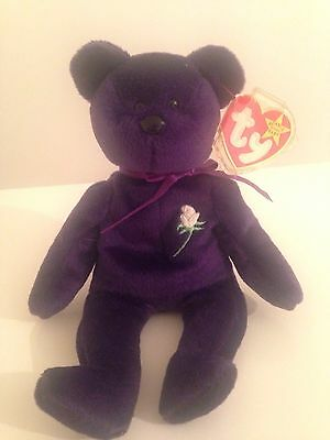 Princess Diana Ty Rare Beanie Baby PVC - Made In Indonesia