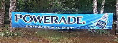 Banderole promotionnelle Powerade / Powerade banner