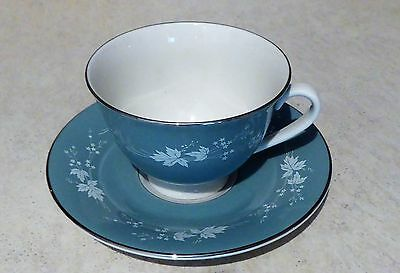 New Royal Doulton Reflection Tea Cup and Saucer
