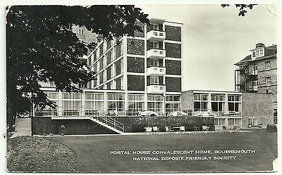 Hants postcard Bournemouth Portal house Convalescent Home