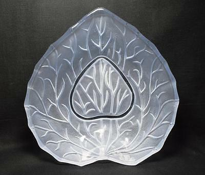 Bagley Art Deco Style Glass Cocktail Time Bowl, Large