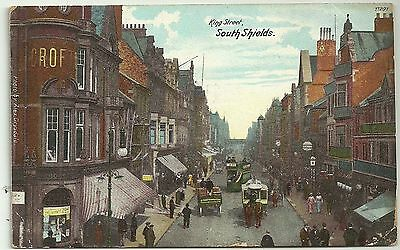 Northumberland postcard South Shields King Street