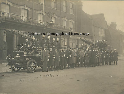 Finchley London Police Fire station brigade constable constabulary policeman