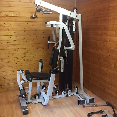Body Solid EXM2000 Multi Gym with accessories