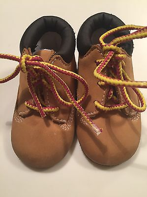 timberland Baby Bootees Aged 0-6 Months