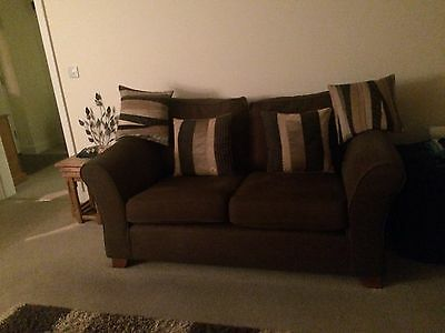 Brown Marks and Spencer Sofa x 2