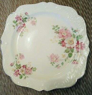 Vintage Flower Pattern Papoco Plate