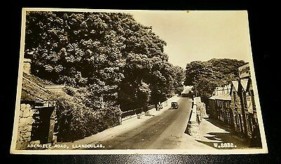 VINTAGE POSTCARD - ABERGELE ROAD, LLANDDULAS - EARLY 1900's