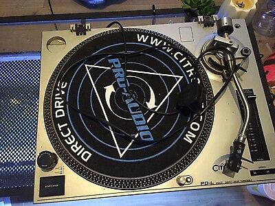 DJ Turntable Deck - Citronic PD1 Direct Drive