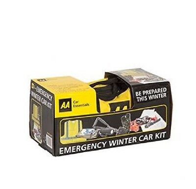 AA Winter Essentials Car Safety Kit Emergency Travel Storage Bag Safe Rescue