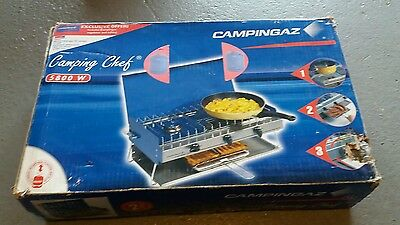 Campinggaz Camping Chef gas stove with 907 butane cylinder