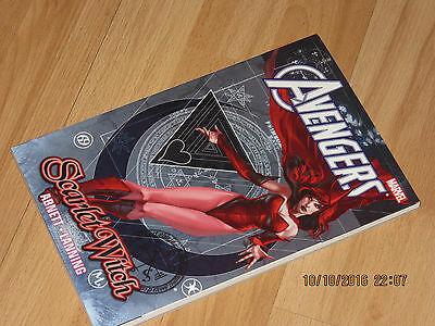 Avengers Scarlet Witch Marvel Graphic Novel Comic Book