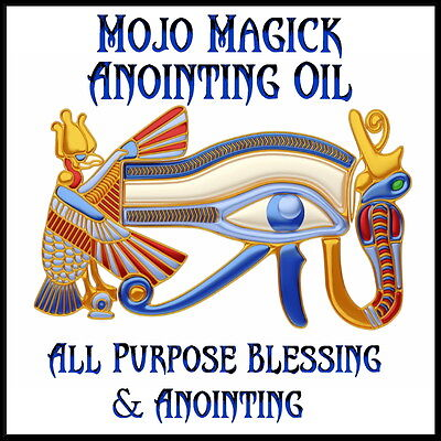 Mojo Magick All Purpose Blessing Essential Oil - Hoodoo Wicca Spell Magick