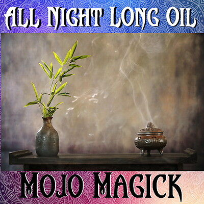 Mojo Magick All Night Long Essential Oil Hoodoo Wicca - Inflame Senses Passion