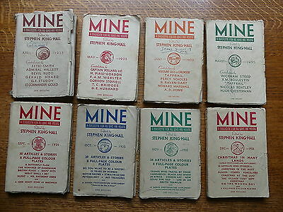 MINE 1935 Magazines For The Young Stephen King-Hall (War Posters, Stories & Fact