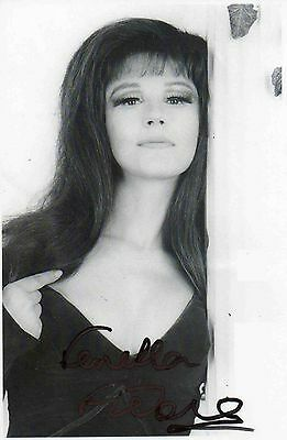 Fenella Fielding Hand Signed Photo 6X4 British Stage & Film Actress Carry On