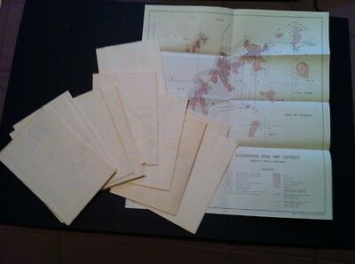 16 Louisiana Department Of Conservation Iron Ore Oil Maps Geology Survery Folio
