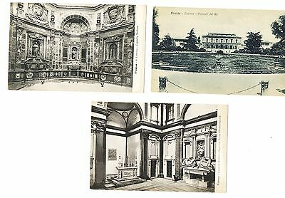 Group of 3 Vintage Postcards of Firenze (Florence), Italy