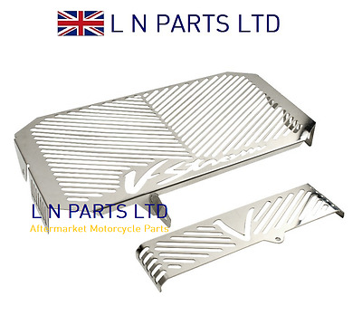Suzuki DL650 V-Strom Stainless Radiator & Oil Cooler Grille / Cover 2004-2012