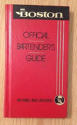 Mr Boston Official Bartenders Guide 1988