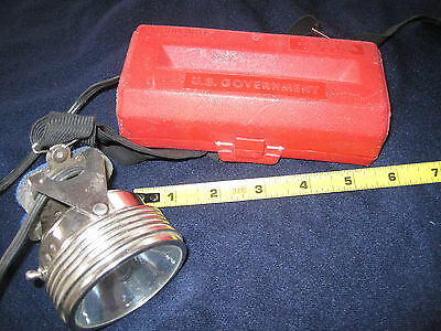 headlamp Model JUSTRITE No. 1904 US Government Issue