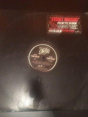 "D12 Fight Music Eminem Kanye West Yeezy 12"" Single"