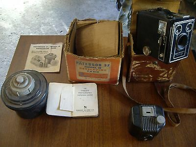 antique camera box baby browning