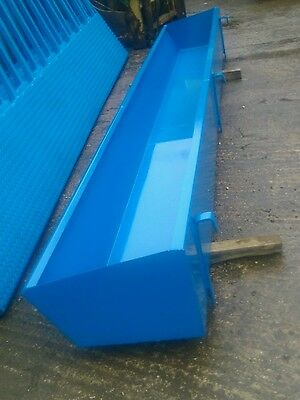 cattle feed barrier troughs
