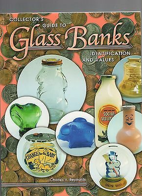 P602   Book  Glass Bank Identification by Reynolds 270 pgs