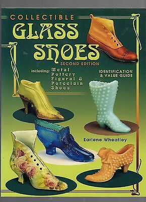 P611   Book  Collectible Glass Shoes by Wheatley 220pgs