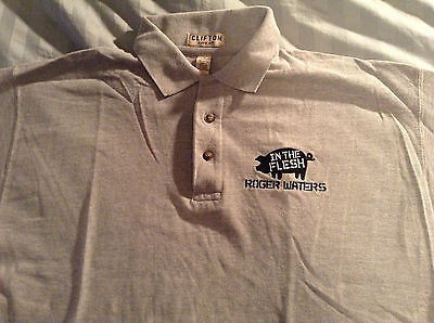 Roger Waters Golf Shirt -Never Worn, Never Washed Large Like New PINK FLOYD