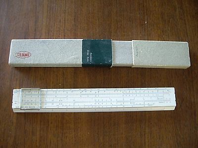 collection of early slide rules calculators