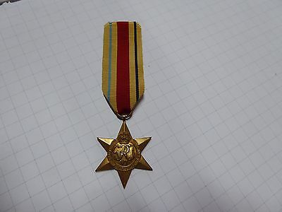 Ww11 Australian British The Africa Star War Medal Original Un Named Nice Example