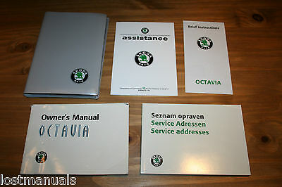Skoda Octavia, Owners Manual / User Handbook,  Wallet,  1998 - 2005,