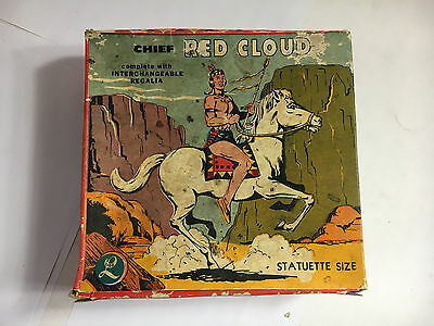 Red Cloud RARE 1950s LIDO TOY BOX ONLY Please see pics