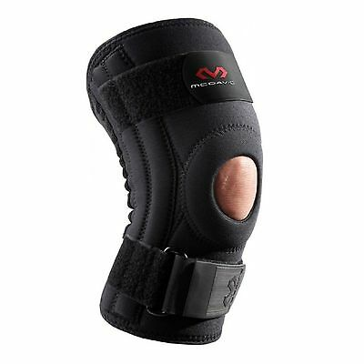 McDavid 421 Level 2 Thermal Compression Knee Support Brace w/ Stays, Black Large