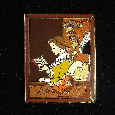 Belle and Beast Masterpiece Disney Auctions Pin LE 100 OC RARE