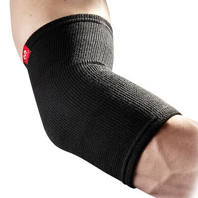McDavid 512 Level 1 Elastic Elbow Compression Support Pain Relief, Black, Large