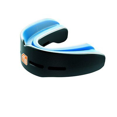 Shock Doctor Nano Double Convertible Upper & Lower Mouthguard Carbon Adult