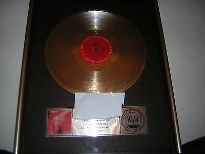 Loverboy Riaa Record Award Get Lucky Strip Plate Mike Reno 1983