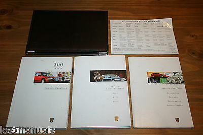Rover 200 Owners Manual / User Handbook Wallet, Audio Manual,  1995-2000 Service