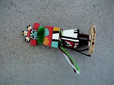 Auth.Native American Indian Mini Zuni Morning Singer Kachina by Colleen Parker